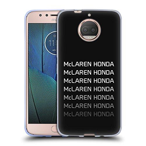 Officiel McLaren Honda Essentials Logo Repeat Art Clé Étui Coque en Gel molle pour Motorola Moto G5S Plus