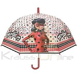 Paraguas Niño Prodigiosa Ladybug 48cm Transparente