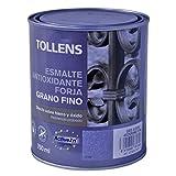 Tollens 8730 Esmalte para Metales, Gris Acero, 750 ml