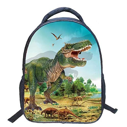 Los niños 3D Animales Frescos Dinosaurio Imprimir Mochila...