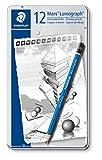 Staedtler mars lumograph tin of 12 drawing pencils - Best Reviews Guide