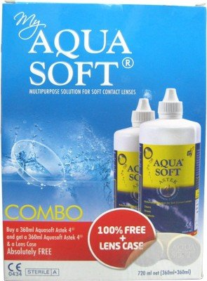 Aqua Soft Sensitive Eyes Multi Purpose Lens Solution (720ml) New Mrp