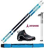 Atomic Langlaufski-Set XCRUISE 55 in 193cm + Bindung + Schuhe + Stöcke +...