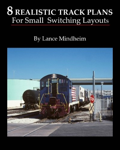 8 Realistic Track Plans For Small Switching Layouts por Lance Mindheim