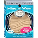 Physician's Formula Mineral Wear Airbrushing Pressed Powder SPF 30, Translucent 0.26 oz (Pack of 3)