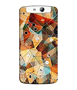 PrintVisa Designer Back Case Cover for Oppo N1 (Cartoon picture animated fancy traveling)