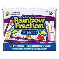 Learning-Resources-Bruchteil-Bingo-in-Regenbogenfarben