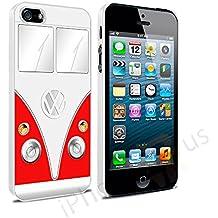 Volkswagen Camper Van–Carcasa para Apple iPhone 5y 5S se por iPhone R Us®, rojo, Apple iPhone 6 6s