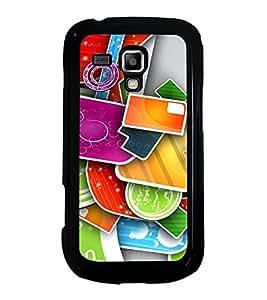 Printvisa Ultra Multi Colour Pattern 2D Hard Polycarbonate Designer Back Case Cover for Samsu...