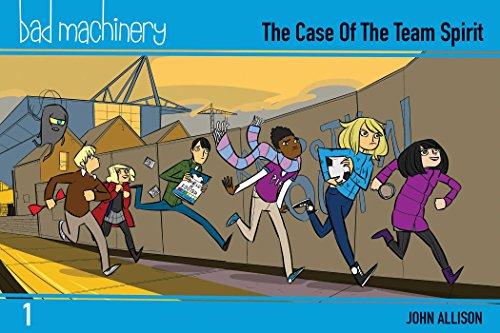 Bad Machinery Volume 1 - Pocket Edition: The Case of the Team Spirit (Bad Machinery Volume 1 the Cas) por John Allison