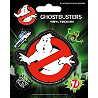 Pyramid International Ghostbusters (Logo) Vinyl Stickers, Paper, Multi-Colour, 10 x 12.5 x 1.3 cm