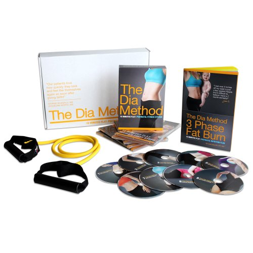The Dia Method: 10 Minutes Flat Post-pregnancy Fitness System System Flat