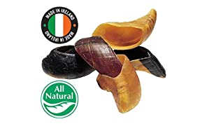 Pawstruck Cow Hooves for Dogs | Natural & Made in Ireland | Bulk Dog Dental Treats & Dog Chews Beef Hoof, Irish EU Made (10 Hooves)