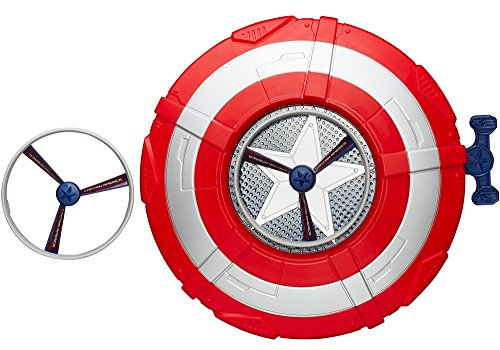 Hasbro B0427EU4 - Avengers Captain America Action Schild (Captain America Kostüm Und Schild)
