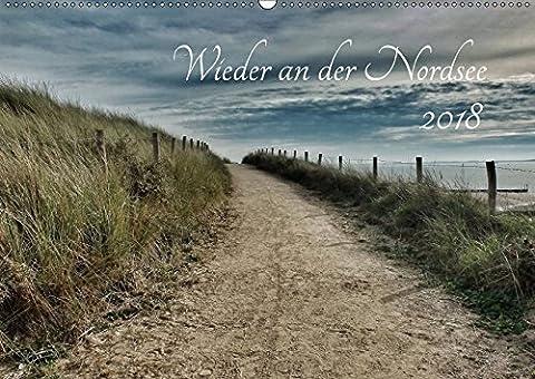 Wieder an der Nordsee (Wandkalender 2018 DIN A2 quer): Nordsee, wild, weit, wunderschön (Monatskalender, 14 Seiten ) (CALVENDO Natur) [Kalender] [Apr 01, 2017] Weih, (Wolken Atlas)