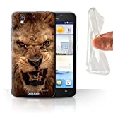 Stuff4 Phone Case for Huawei Ascend G630 Wildlife Animals