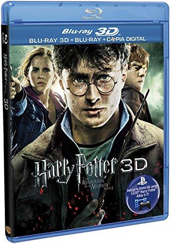 Harry Potter Y Las Reliquias De La Muerte ( Parte 2)-- St Bd Combo 3D [Blu-ray]