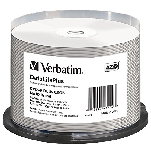 Verbatim 43754 - Disco DVD+R de 8.5 GB