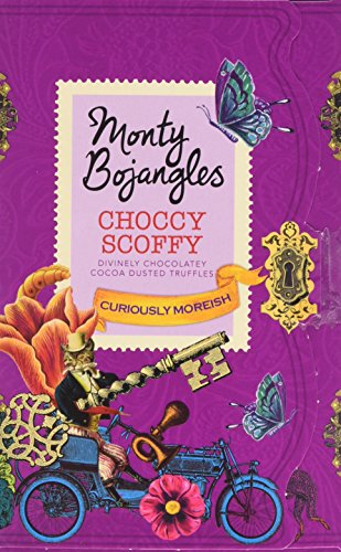 Monty Bojangles Choccy Scoffy Individually Wrapped Cocoa Dusted Truffles, 2 x 200g Packs
