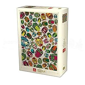Deico Games Puzzle 76014/PA 02 Dark Blue Cardboard