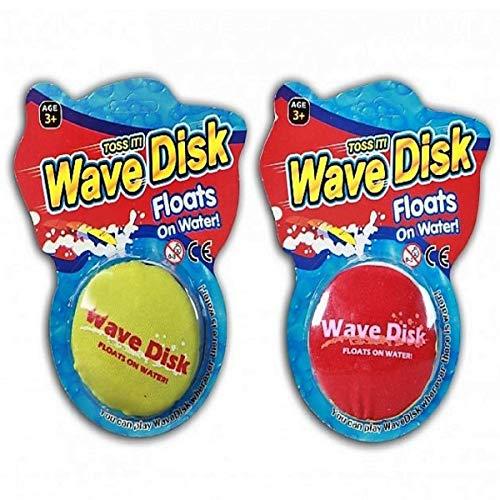 JONOTOYS Wasserfrisbee Frisbee Wurfscheibe Kinder ca.7,5cm Soft Splash Wavedisk Wurfspiel