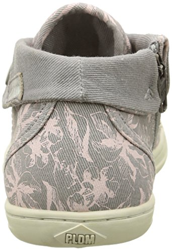 PLDM by Palladium Letty, Baskets Hautes Fille Gris (C50 Perla/Flower)