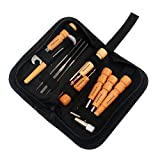 ammoon Guitare Réparation Entretien Kits de Nettoyage 11 Pièces Pratique...