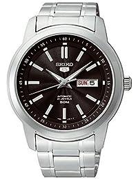 Reloj Seiko Seiko 5 Snkm87k1 Hombre Negro 28cac78510e9