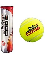 Balls ... unlimited Code Red Tennisbälle - 4er Dose