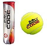 Balls ... unlimited Code Red Tennisbälle - 3 x 4er Dose (12 Tennisbälle)