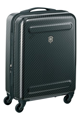 Victorinox Etherius Polycarbonate 39 cms Black Hardsided Cabin Luggage (602781)