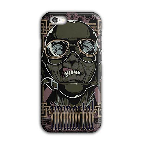 Zombie Pilot Rose Mode Grausam Flieger iPhone 6 / 6S Hülle | Wellcoda (Männlich Pilot Kostüme)