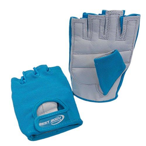 Best Body Nutrition Power Handschuh, Mehrfarbig (türkis), M Damen Nylon-handschuhe