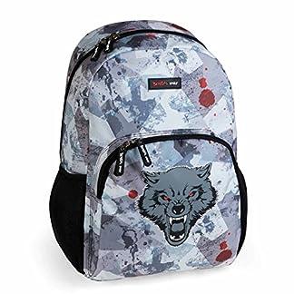 51OeGEht1cL. SS324  - Busquets Mochila Escolar Bestial Wolf by DIS2