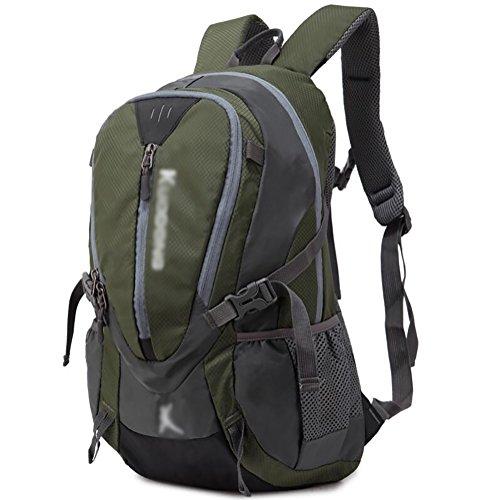 HWLXBB Outdoor Bergsteigen Tasche Männlich und weiblich 45L Wasserdichte Mehrzweck-Bergsteigen Tasche Wandern Camping Bergsteigen Rucksack 1*