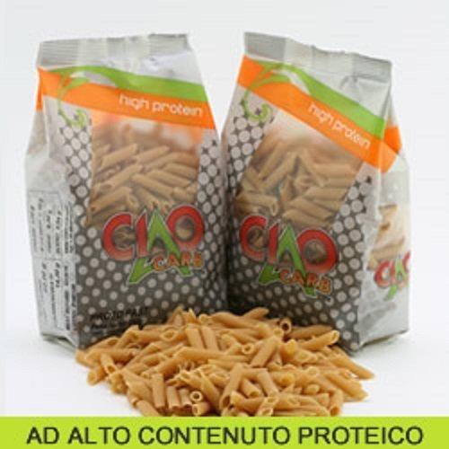 Pasta proteica 250 gr - penne rigate - altissimo contenuto di proteine (60%!!!) - offerta speciale 5 confezioni - sp050