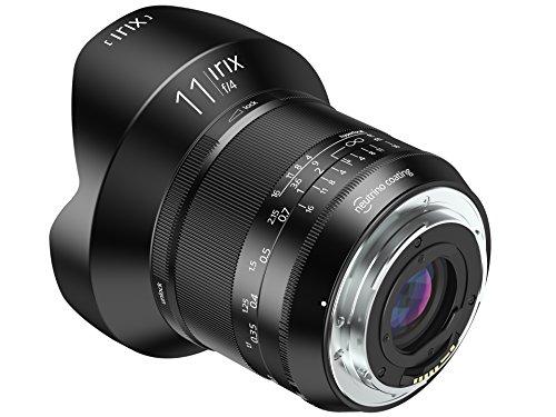 Irix IL-11BS-EF Ultraweitwinkelobjektiv Blackstone 11mm f4 für Canon EF (Vollformat, leuchtende Beschriftung, optimierter Fokusring) schwarz -