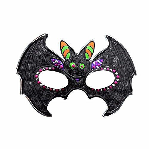 Halloween Maskerade männliche Maske Party Kids Bat Maske, D