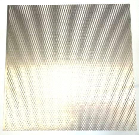 Alu Lochblech Rundlochung 3/1 mm