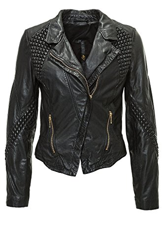 Freaky Nation Damen Lederjacke FN19336 Black M
