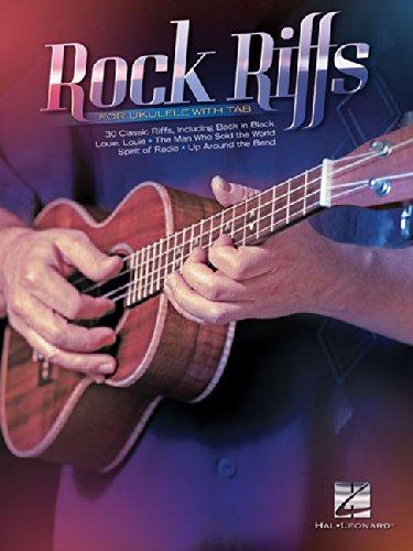 Rock Riffs For Ukulele (TAB BOOK): Noten, Tab für Ukulele