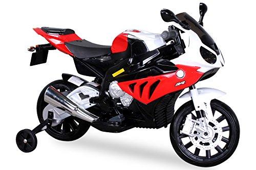 Niños Moto rrad Niño motocicleta eléctrica Niño Infantil para coche vehículo BMW BMW S1000RR