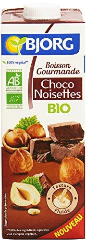 Bjorg Boisson Gourmande Choco Noisettes Bio 1 L
