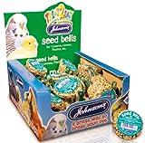 Canary & Finch Seed Bell Bird Treat 34g - Johnsons (TP)(JCBE)(FULL BOX 27)
