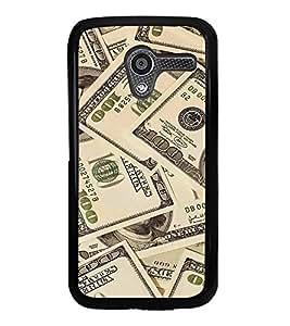 PrintVisa Designer Back Case Cover for Motorola Moto X :: Motorola Moto X (1st Gen) XT1052 XT1058 XT1053 XT1056 XT1060 XT1055 (Currency Dollar USD Paper Value)