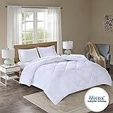 Comfort Spaces - Plush MicaX Cooling Fiber Filled Down Alernative Comforter - Duvet