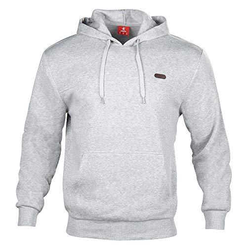 ZINRAY Herren Mischvlies Pullover Sweatshirt Geeignet für Sport, Freizeit, Zuhause in 3 Farben und 6 Größen (S/M/L/XL/XXL/XXL/XXXL)
