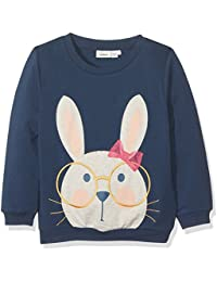 NAME IT Nitfeffe Ls Swe Top Bru Mini, Sudadera para Niñas