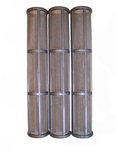 3x Hauptfilter grau 30 Maschen für Graco