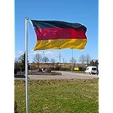 Mástil de 4piezas 6,2m Banderas (Incluye Bandera de Alemania